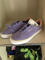 Nora Vasconcellos Adidas 3MC Skateboarding Shoes Purple Pink Yellow Size 8 NWT