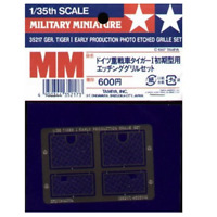 Tamiya 35217 German Tiger I Early Production Photo Etched Grille Set 1/35