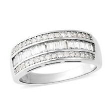 Natural White Zircon Ring in Sterling Silver (Size 5.0), 1.56 ctw