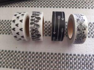 Sticky Tape, Original design, Washi Tape, Masking Tape, Diy Tape, Four designs t