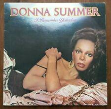Donna Summer – I Remember Yesterday – GTLP 025 – LP Vinyl Record EX/EX