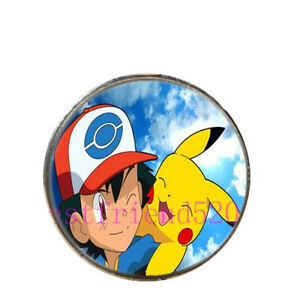 Set of 5 Pikachu Pokemon Go Necklaces - Chain and Pendants