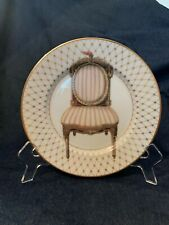 Fitz & Floyd Porcelain Chaise Pattern Set Of 4