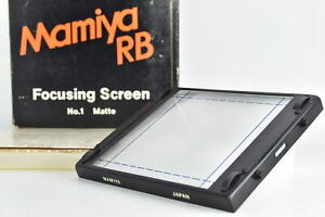 [MINT in BOX] Mamiya RB67 Focusing Screen No.1 for RB67 Pro S SD From JAPAN