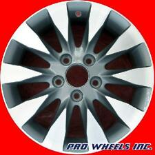 "HONDA CIVIC 2009 2010 2011 16"" MACHINED GRAY ORIGINAL OEM WHEEL RIM 63995 A"