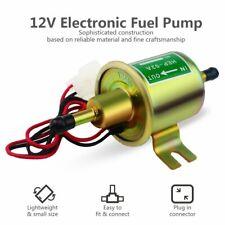 Universal 12V Electric Fuel Pump Gas Diesel Marine Carburetor 4-7 PSI HEP-02A