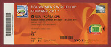 Orig.Ticket    Frauen WM DEUTSCHLAND 2011    USA - NORDKOREA // Spiel 5  !!