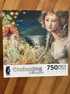 Ceaco Enchanting Shimmer Jigsaw Puzzle 750 Pieces Wildwood Dancing New