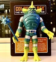 "COLORFORMS OUTER SPACE MEN NEW 2018 12"" VINYL SOFUBI COLOSSUS REX NEW IN BOX"