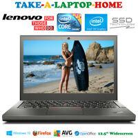 Lenovo X-Series Gaming Laptop Intel Core i5 256Gb SSD Webcam WiFi Gaming 8Gb Ram