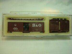 Intermountain N-Scale B&O 40 Foot Boxcar kit Car #465899