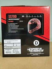 Speed & Strength Helmet Ss 700 Rage with the machine Red/black Small 880354