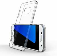 Clear Case For Samsung Galaxy A3 A5 2017 Transparent Silicone TPU Gel Cover