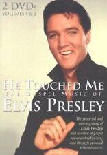 He Touched Me The Gospel Music of Elvis Presley Vol 1 & 2 - DVD Region 1