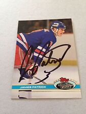 James Patrick VINTAGE HAND SIGNED 1991 Topps Card With COA