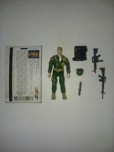 Steeler V2 G.I. Joe Valor Vs Venom Loose And Complete 2004 Hasbro