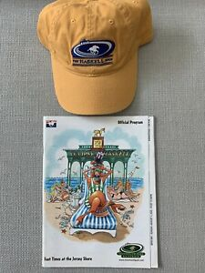 2002 Haskell Invitational Hat & Program - Monmouth Park August 4,2002
