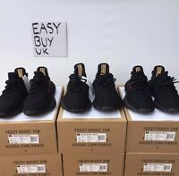 ADIDAS YEEZY BOOST 350 V2 PIRATE BLACK/RED BRED KANYE WEST 100% AUTHENTIC