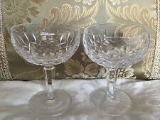 """Set of 2 Champagne/Tall Sherbet in Kildare by Waterford-5 1/4"""""""