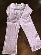 Petit Bateau 122 / 128 Schlafanzug 2 Teiler *N 8 Jahre Rosa Frottee Pyjama Top