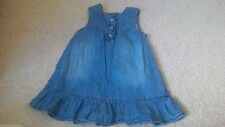 Zara Denim Dresses (0-24 Months) for Girls