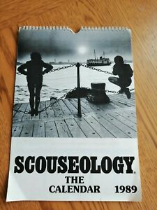 Liverpool... Calendar.... SCOUSEOLOGY.... 1989... BLAST FROM THE PAST 13 PAGES