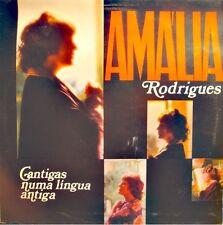AMALIA RODRIGUES cantigas numa lingua antiga LP 1977 Columbia Portugal NM++