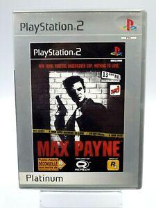 PS2 Max Payne Rockstar Platino Gioco PLAYSTATION 2 Vintage Retrogaming