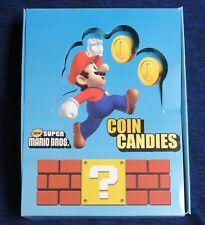 2010 Nintendo New Super Mario Bros. Coin Candies Display Box Only No Candy