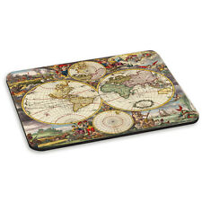 Vintage Old World Map #5 Round Globes Retro PC Computer Mouse Mat Pad