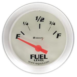 "Equus Fuel Level Gauge 8362; 8000 Series 0 to 90 Ohms 2"" Electric"