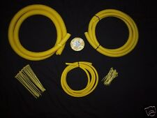 Audi- Yellow  Split Conduit Engine / Wiring Dress Up Kit