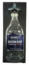 Doombar Bottle Opener, Wall Mounted on Slate backing. Unique male Xmas Gift