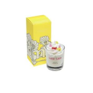 Bomb Cosmetics Loco Coco Piped Glass Candle - BUY ANY 2, SAVE £5. Gift