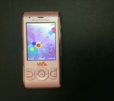 "SONY ERICSSON WALKMAN W595 SLIDE 3G CAMERA PHONE ""PEACHY PINK"" *BOXED*UNLOCKED"