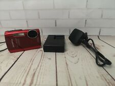 Olympus Stylus Tough 3000 Waterproof Digital Cameras used 12 megapixel, red
