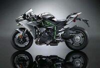 1:18 Scale Maisto Kawasaki H2R Mini Motorcycle Model Motorbike Toy F Collection