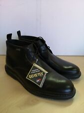 New Clarks Men's Gore-Tex Cushion Plus Black Leather Boots UK 9G - 62D