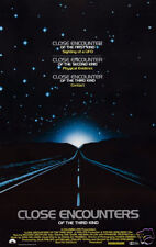 Close encounters of the third kind movie poster print