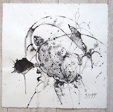 Lamindelbert aquarelle signée  P 843