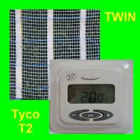 10,0 m2 elektrische Fußbodenheizung Fliesenheizung TWIN