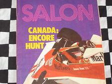 auto-hebdo n°32 1976 / GRAND-PRIX CANADA / ALBI GR.1 & FRE / SALON SPORTIVES