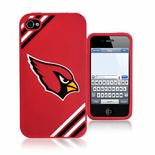 Arizona Cardinals All Silicone IPHONE 4/4S cell phone soft case - NFL licensed