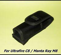 Flashlight Holster for Ultrafire C8 / Manta Ray M8, M6