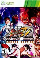 SUPER STREET FIGHTER IV ARCADE ED. Microsoft Xbox 360 Game - Brand New/Unopened