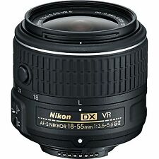 4th Of July Sale Nikon AF-S DX NIKKOR 18-55 mm f/3.5-5.6G VR II Lens  WhiteBox