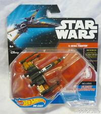 Star Wars Poe's X-Wing Fighter Die-Cast Model From Hot Wheels With Stand