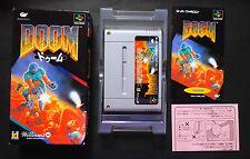 DOOM - Nintendo Super Famicom SFC Very.Good.Cond JAPAN