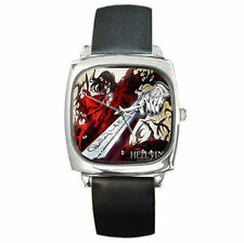 Anime Vampire Hellsing animation leather wrist watch