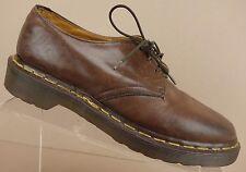 Dr Doc Martens England Brown Leather Plain Toe Oxfords Shoes Womens 7 US/UK 5